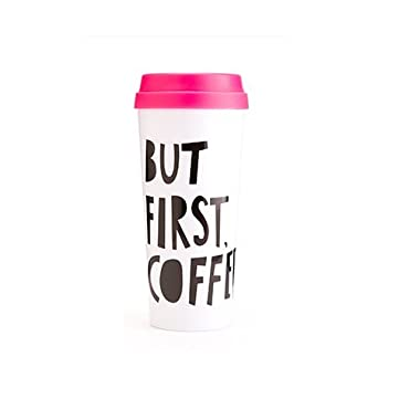 Ban.do 40735 Hot Stuff Thermal Mug, But First Coffee