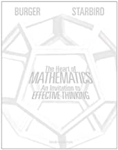 Best the heart of mathematics: an invitation to effective thinking Reviews