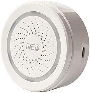 NeoCoolCam NAS AB02W Sirena inalambrica. Funciona de manera independiente. No necesita central de alarma