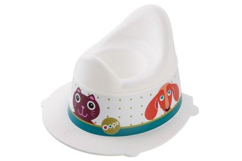 Rotho Babydesign Pot pour Enfants Oops StyLe!, Avec Partie Supérieure Amovible, À partir de 18 Mois, StyLe!, Blanc, 202130001AW
