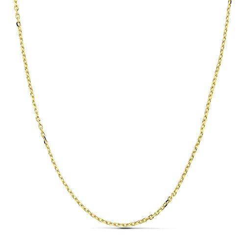 Cadena oro 18k maciza forzada 50 cm. 1.7 mm. 5.00 grs. [9501]