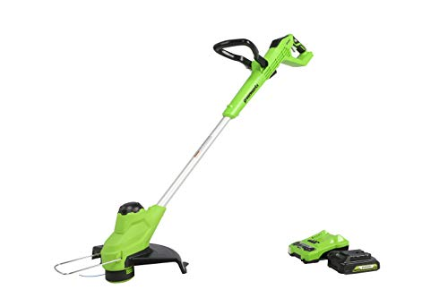 Best Price Greenworks 24V 11 TORQDRIVE String Trimmer, 2Ah USB Battery and Charger Included ST24B21...