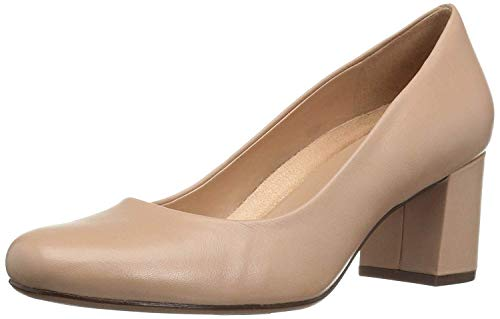 Naturalizer Women's Whitney Dress Pump, Taupe, 9 W US