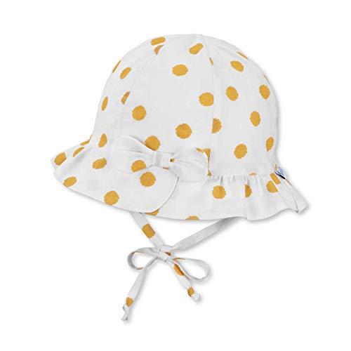 Sterntaler Hut 1412105 Gorro/Sombrero, Gelb, 45 Baby Girls