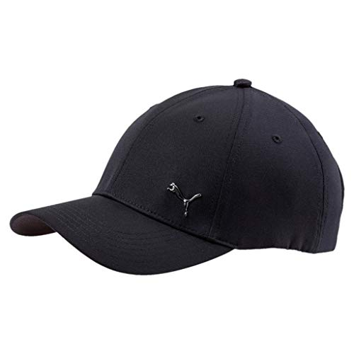 PUMA Erwachsene Metal Cat Cap Kappe, Black, Adult