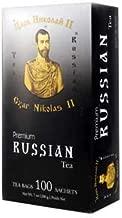 Czar Nikolas II Premium Russian Tea 100 Sachets