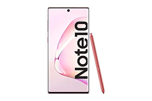 Samsung Galaxy Note10 SM-N970F - Smartphone (Dual SIM, 8 GB RAM, 256 GB Memoria, 10 MP Dual Pixel AF) Rosa (Pink)