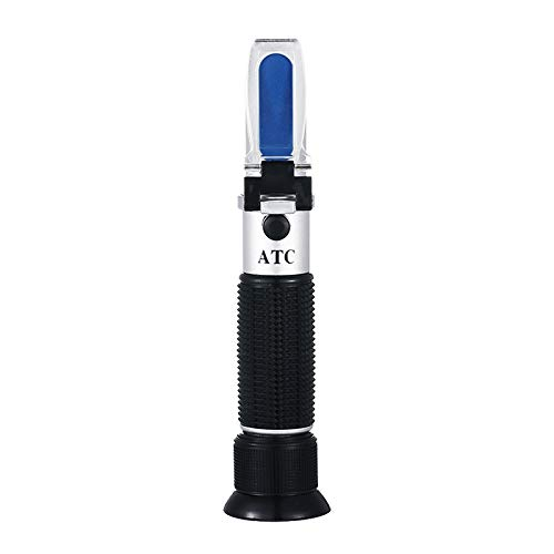RCYAGO Refraktometer Frostschutz Urea ATC Gefrierpunkt Ethylenglykol Konzentration Propylenglykol, für Gefrierpunkt von Kühlwasser