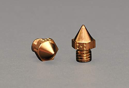 V²MG Hochleistungsdüse - Düse für den FDM-Druck - 3D-Druck - Verschleißfeste Legierung - für mit Kohlefaser Geladene Filamente