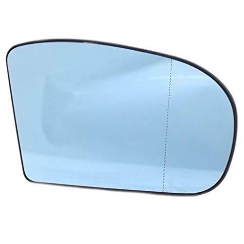 Sunlera Reemplazo para Mercedes W203 W211 00-06 2038101021 pasajeros del Lado Derecho Retrovisor Espejo Lateral Lente de Cristal