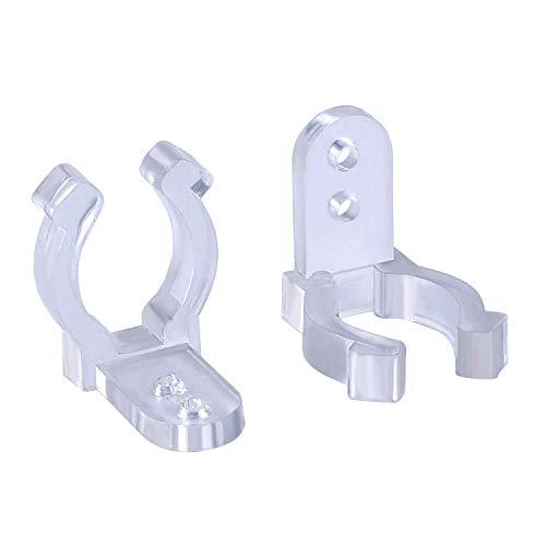 Befestigungsclips für LED-Lichtschlauch 40 Stück Halterung Lichterschlauch