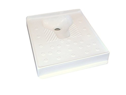 Placa turca, inodoro. Muy higiénico. Fabricado en poliéster reforzado con fibra de vidrio.