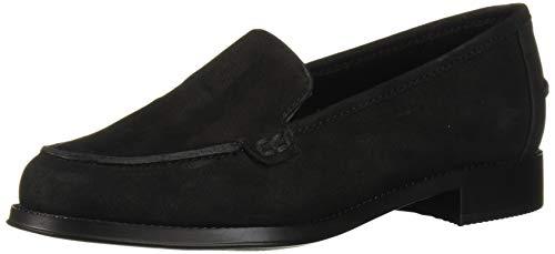 Easy Spirit Women's Racer Loafer, Black 001, 8.5 Wide