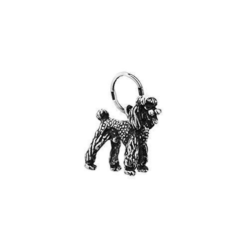 NKlaus Silber 925er Sterlingsilber Ketten Anhänger Hund Pudel massiv 6303