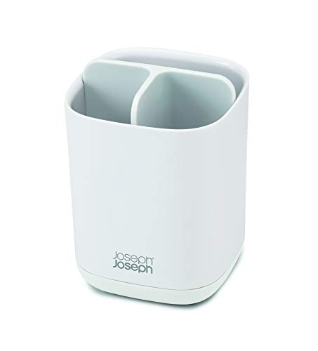 Joseph Joseph EasyStore Toothbrush Caddy, Small (White/White)