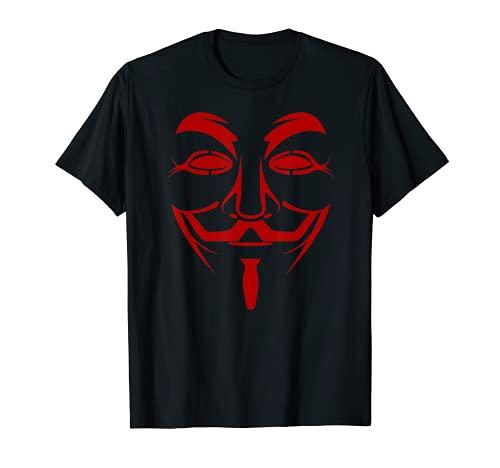 Anonymous Revolt Freedom プライバシーコミュニティプロテスター ユナイテッド Tシャツ