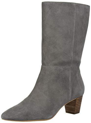 Lucky Brand Women's ZAAHIRA Mid Calf Boot, Titanium, 8 M US