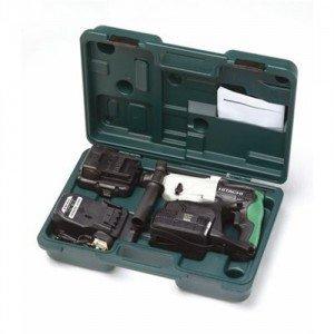 HiKOKI DH24DVCZ SDS Plus - Perforador cincelador con 2 baterías de 24 V, 2 Ah, NiMH 4 + Caja de Transporte, 1
