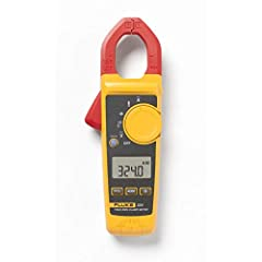Digital clamp meter measures ac current to 400 amp, ac and dc voltage to 600v, and resistance to 4 kilohms True RMS sensing meter provides accurate readings when measuring linear or non linear loads, regardless of waveform Jaw opening measures curren...
