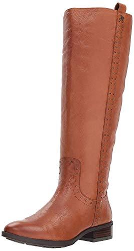 Sam Edelman Women's Prina 2 Knee High Boot, Whiskey Leather, 7 M US