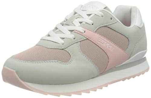 ESPRIT Sneaker in Leder-Optik