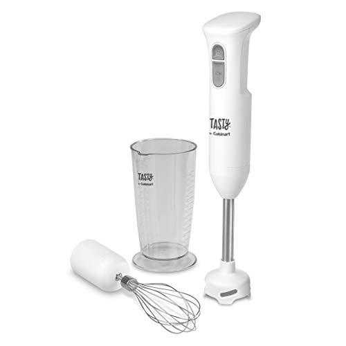 Tasty By Cuisinart HB200T Hand Blender, White, 2.16'(L) x 2.16'(W) x 15.31'(H)