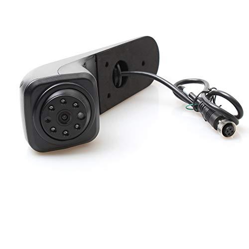 Red WOLF - Telecamera di retromarcia, per auto, terza luce del freno, per Volkswagen Crafter Van 2017 + luce freno 3° luce freno impermeabile 12 V 4 pin