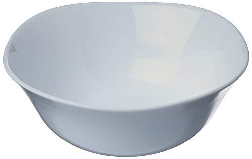 Parma - Taza de cristal opalino (1 cuenco de 24,8 cm)