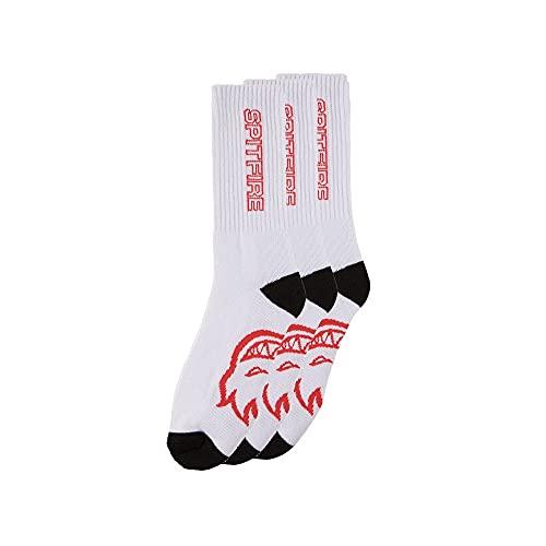 Spitfire Sockens: Classic 87 Pack 3 White/Black/Red