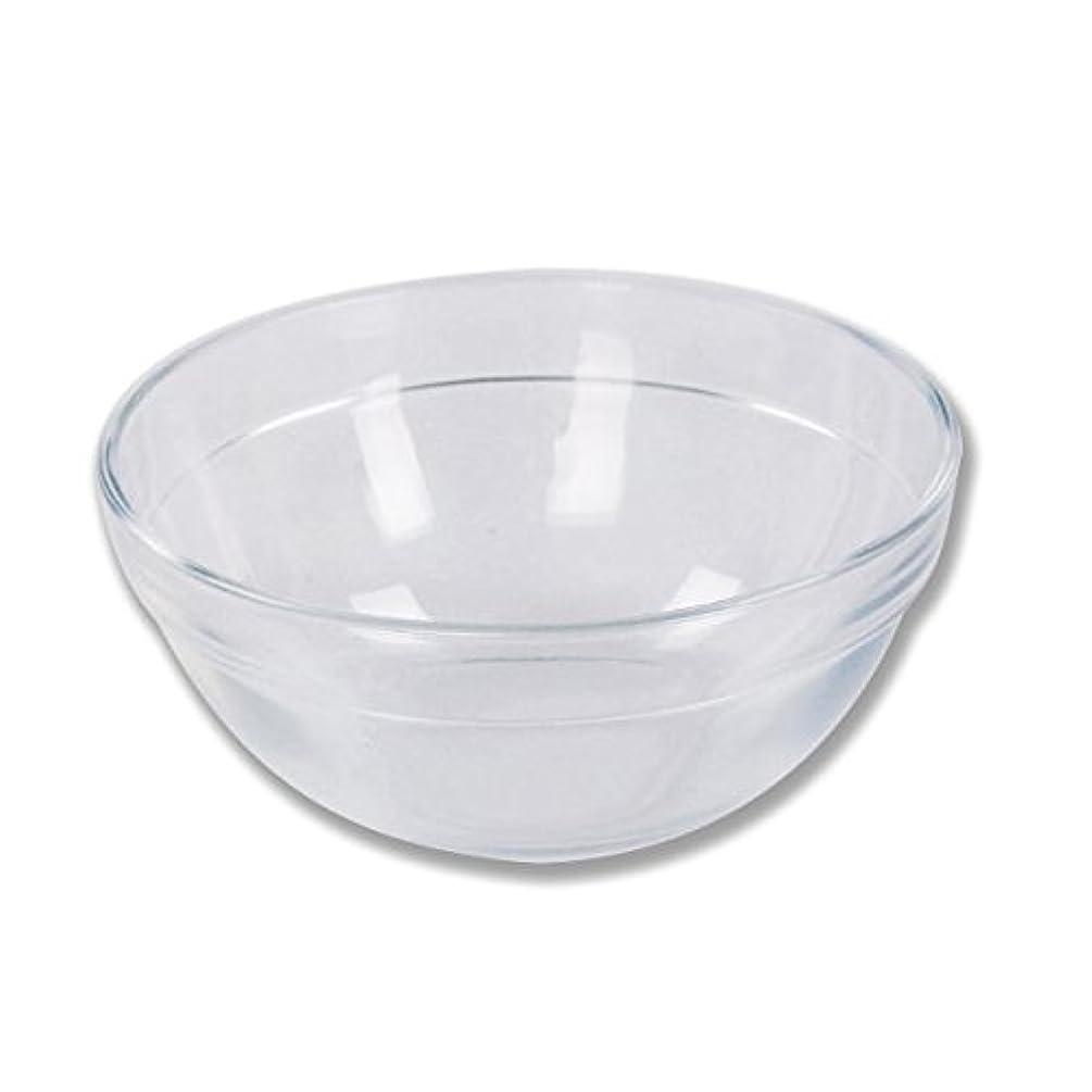 空気貸し手汚染するガラスボウル (Mサイズ) [ ガラスボール カップボウル カップボール エステ サロン ガラス ボウル カップ 高級感 ]