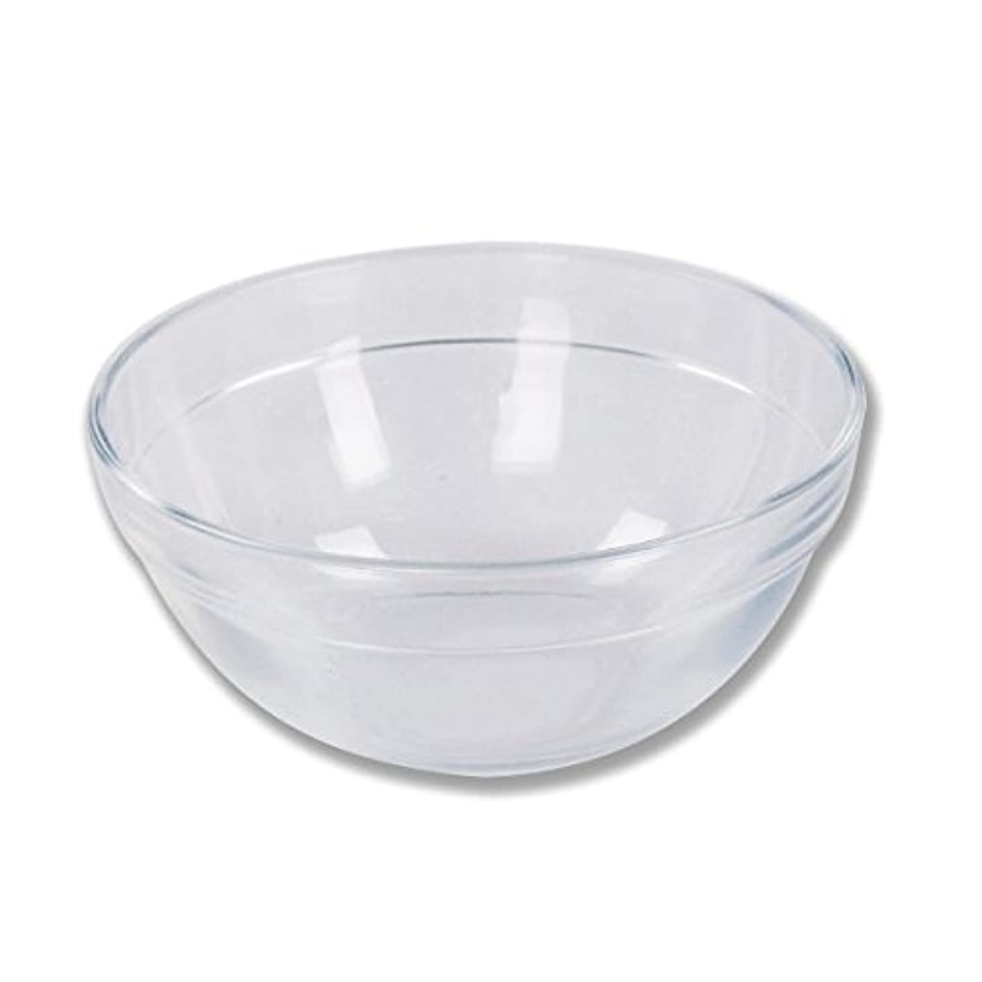 承認アクセサリー農学ガラスボウル (XLサイズ) [ ガラスボール カップボウル カップボール エステ サロン ガラス ボウル カップ 高級感 ]