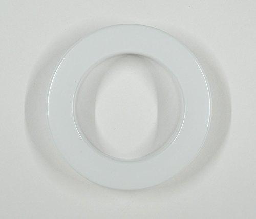 Bandex paire œillets ø 35,5 x 55 mm-livré en blister de 10 blanc
