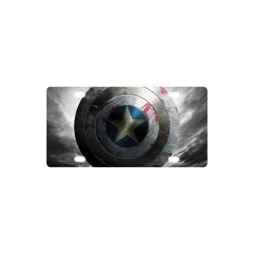 Captain America custom Metal License Plate for Car