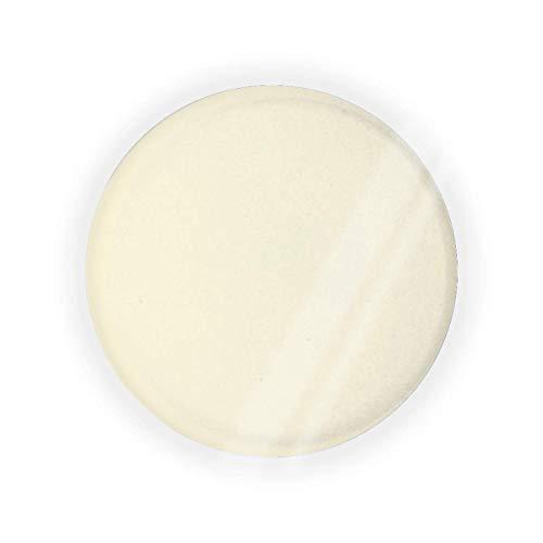Caja de cojín de aire vacío, color crema, color liso, para maquillaje BB CC, contenedor de base