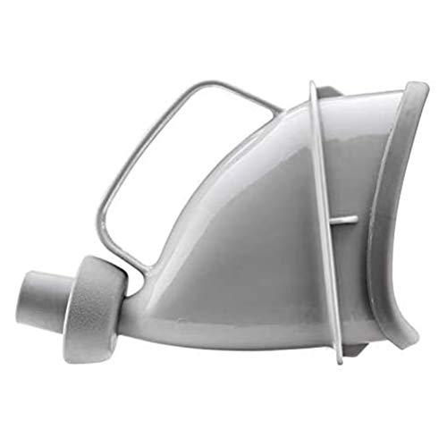 Yuciya Urinario Emergencia, Dispositivo Micción Unisex, Embudo Portátil Reutilizable Botella de Orina de Viaje para Acampar Al Aire Libre, Sentarse o Pararse de Emergencia