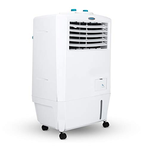 Symphony Ninja Personal Air Cooler with Powerful Blower and Honeycomb Pad - 17L, White