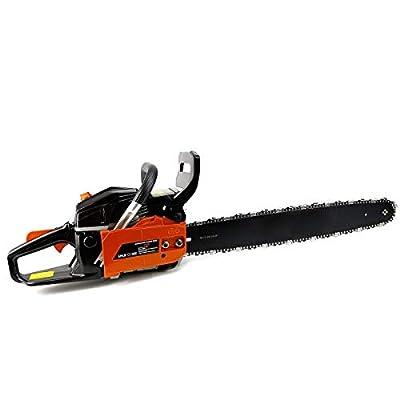 "XtremepowerUS 22"" 2.4HP 45cc Gasoline Gas Chainsaw Cutting Wood EPA"