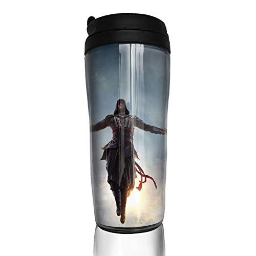 haiyou A-ssassin C-Reed Fantasy Game Taza de café de doble pared taza de vacío de 14 oz botella aislada vasos portátiles tazas de viaje 350 ml
