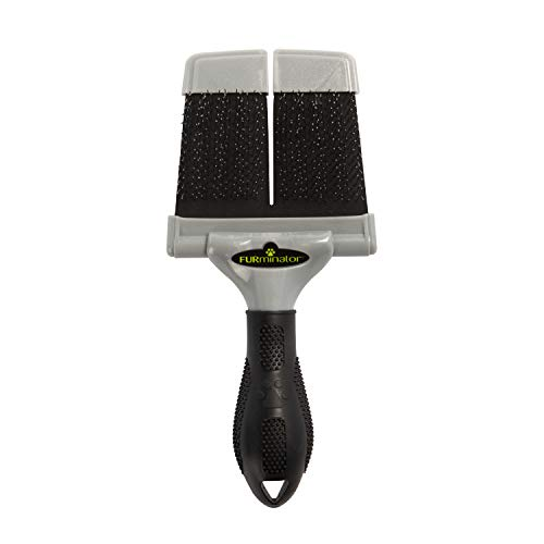 FURminator Firm Grooming Slicker Brush, Dog, Large
