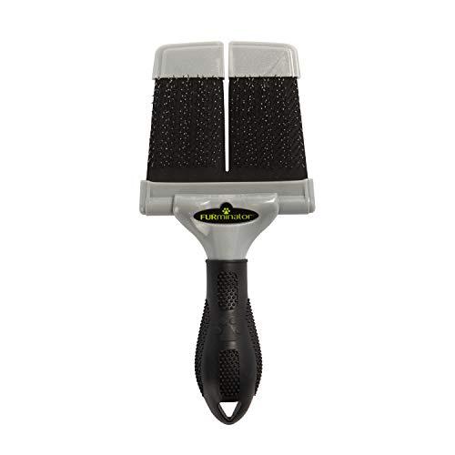 FURminator Firm Grooming Slicker Brush, Dog, Large