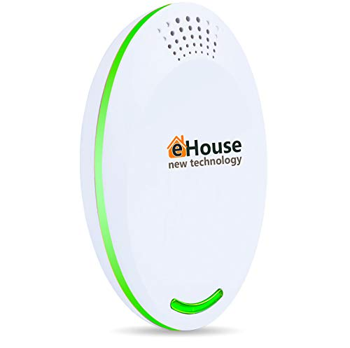 AC12g Ultrasonic Pest Repeller - Electronic Plug in Best Repellent - Pest Control - Get Rid of - Rodents Squirrels Mice Rats Insects - Roaches Spiders Fleas Bed Bugs Flies Ants Mosquitos Fruit Fly!