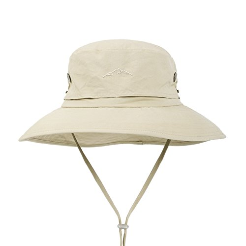 Yxsd LMYZ Yxsd Sun Cap Sonnenschutz UV Schutz Männer Nylon Gesicht Hut, verstellbare Kinnband Outdoor, Bergsteigen Reisenden Hut,Sonnenhut (Color : Yellow)