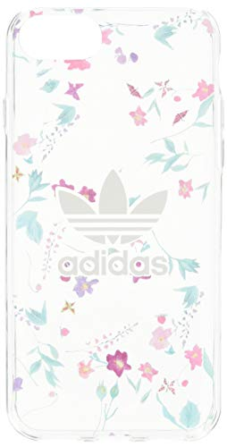 Adidas OR Clear Case AOP FW18 per iPhone 6/6S/7/8, trasparente