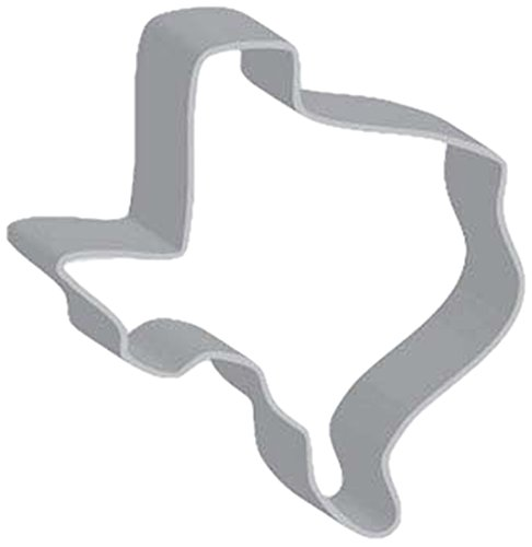 Flavortools Texas Cookie Cutter with Exclusive Flavortools Copyrighted Cookie Recipe Booklet, 3-Inch