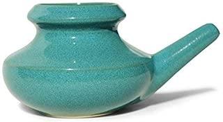 Baraka US Handcrafted Ceramic Neti Pot (Jade)