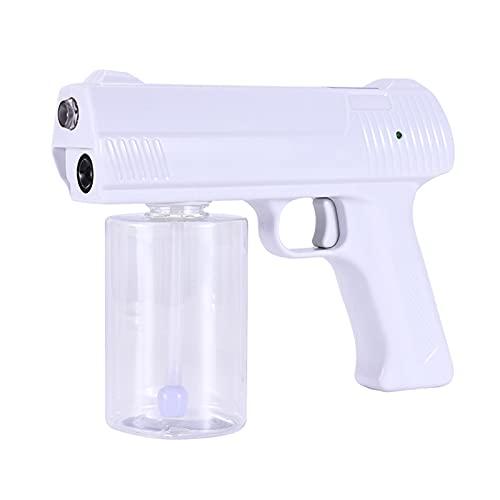 アルコール噴霧器 電動 携帯用消毒ナノスチームエレクトミニアルコールディスペンサー 300ml容量 除菌 霧吹き消毒 自動消毒液噴霧器 ガン空気清浄機スプレー USB充電
