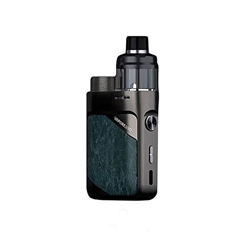 Vaporesso SWAG PX80 Kit (Gunmetal Grey) 80W TC, E Cigarette Vape Kit equipado con cápsula de cartucho de 4 ml, alimentación por una sola batería 18650 (excluida), sin nicotina