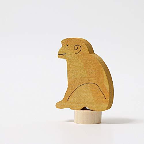 Grimm's Spiel und Holz Design Steckfigur Sitzender AFFE