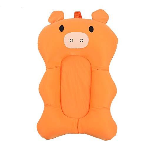 Mumusuki 1 stuk baby badkuip pasgeborenen opvouwbare pad mat luchtkussen zit anti-slip zachte baby ondersteuning varken vorm