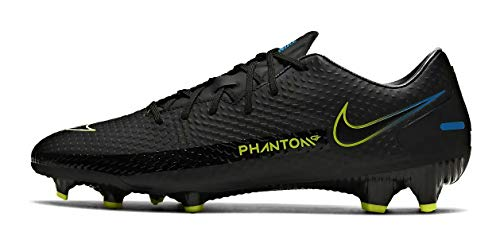 Nike Phantom GT Academy FG/MG, Zapatillas de ftbol Unisex Adulto, Black Black Cyber Lt Photo Blue, 44 EU